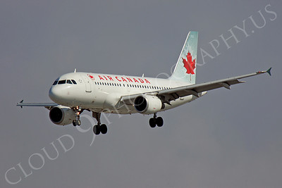 A320 00106 Airbus A320 Air Canada Airline by Peter J Mancus