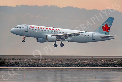 A320 00104 Airbus A320 Air Canada C-FPDN by Peter J Mancus
