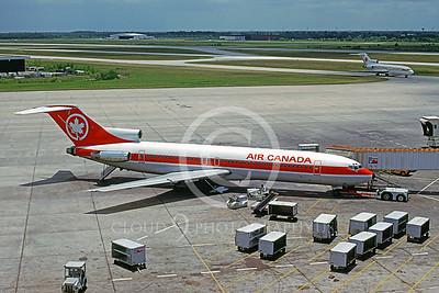 B727 00013 Boeing 727 Air Canada C-GAAU July 1980 by Peter J Mancus