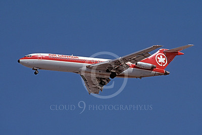 B727 00026 Boeing 727 Air Canada C-GAAQ October 1991 by Peter J Mancus