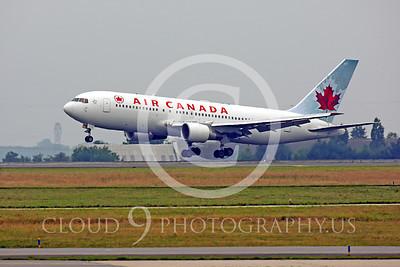 B767 00050 Boeing 767 Air Canada by Peter J Mancus