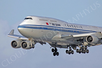 B747 00124 Boeing 747-400 Air China by Peter J Mancus