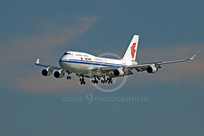 B747 00104 Boeing 747 Air China B-2443 by Peter J Mancus
