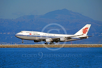 B747 00089 Boeing 747 Air China December 1998 by Peter J Mancus