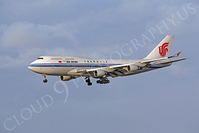 B747 00228 Boeing 747-400 Air China by Peter J Mancus