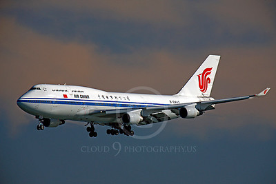B747 00402 Boeing 747 Air China B-2443 by Peter J Mancus