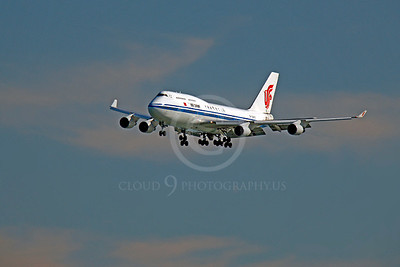 B747 00254 Boeing 747 Air China by Peter J Mancus