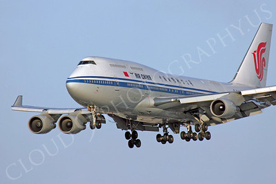 B747 00236 Boeing 747 Air China by Peter J Mancus