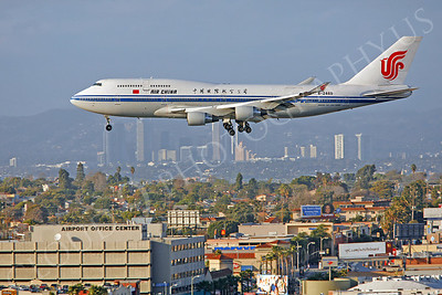 B747 00226 Boeing 747-400 Air China B-2469 by Peter J Mancus
