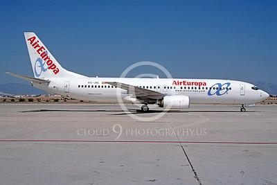 B737 00095 Boeing 737 Air Europa EC-JBL September 2005 via African Aviation Slide Service
