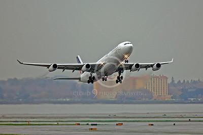 A340 00272 Airbus A340 Air France F-GNIF by Peter J Mancus