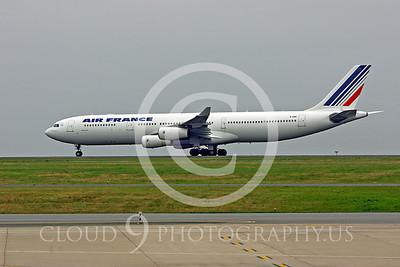 A340 00153 Airbus A340 Air France F-GNII by Peter J Mancus