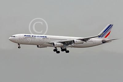 A340 00208 Airbus A340 Air France F-GNIF by Peter J Mancus