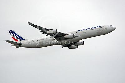 A340 00030 Airbus A340 Air France F-GNIF by Peter J Mancus
