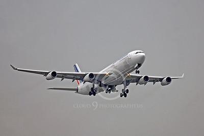 A340 00330 Airbus A340 Air France F-GNIF by Peter J Mancus