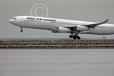 A340 00104 Airbus A340 Air France F-GNIF by Peter J Mancus