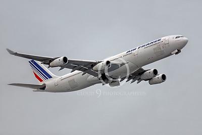 A340 00388 Airbus A340 Air France F-GNIF by Peter J Mancus