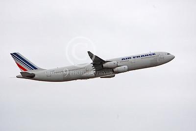 A340 00152 Airbus A340 Air France F-GNIF by Peter J Mancus