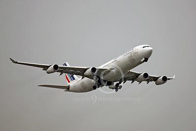 A340 00360 Airbus A340 Air France F-GNIF by Peter J Mancus