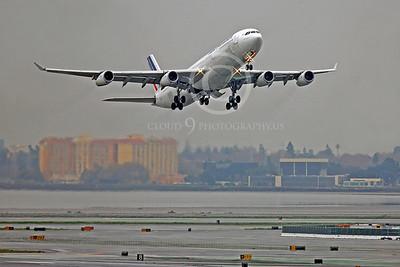 A340 00300 Airbus A340 Air France F-GNIF by Peter J Mancus