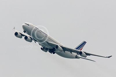 A340 00180 Airbus A340 Air France F-GNIF by Peter J Mancus