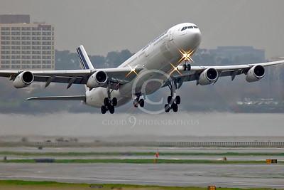 A340 00246 Airbus A340 Air France F-GNIF by Peter J Mancus