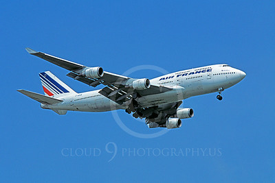 B747 00100 Boeing 747 Air France F-GISB 4 June 2003 by Stephen W D Wolf