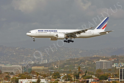 B777 00042 Boeing 777 Air France F-GSPC by Peter J Mancus