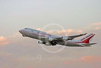 B747 00036 Boeing 747 Air India VT-AJQ by Peter J Mancus