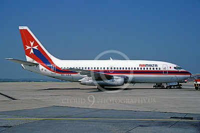 B737 00101 Boeing 737 Air Malta 9H-ABA May 1968 via African Aviation Slide Service