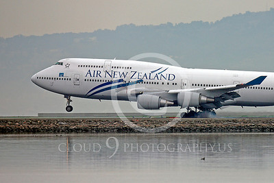 CUNALPJ 00123 Boeing 747 Air New Zealand ZK-NBW by Peter J Mancus