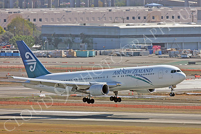 B767 00068 Boeing 767 Air New Zealand Airline ZK-NCO by Peter J Mancus