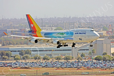B747 00230 Boeing 747-400 Air Pacific DQ-FJL by Peter J Mancus