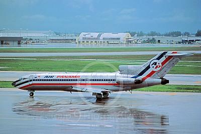 B727 00009 Boeing 727 Air Panama HP-661 September 1983 via African Aviation Slide Service
