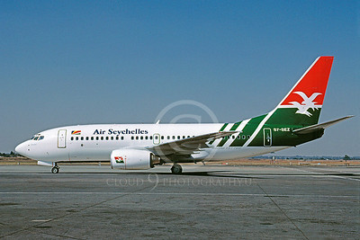 B737 00057 Boeing 737-700 Air Seychelles S7-SEZ May 2002 via African Aviation Slide Service