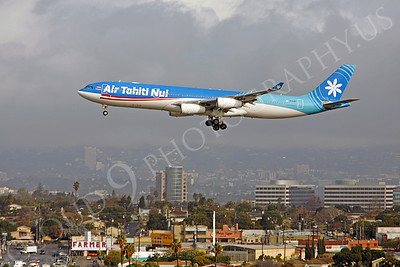 A340 00008 Airbus A340-300 Air Tahiti Nui F-OJGF by Peter J Mancus