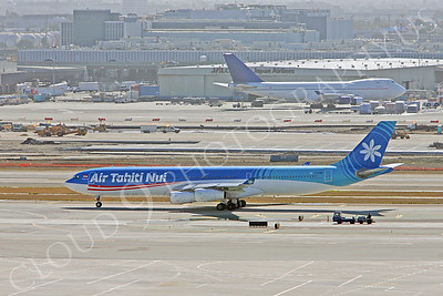 A340 00063 Airbus A340-300 Air Tahiti Nui F-OJGF by Peter J Mancus