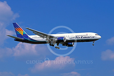B767 00040 Boeing 767 Air Tours G-SJMC May  1995 by Peter J Mancus