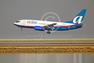 B737 00136 Boeing 737 Air Tran N286AT by Peter J Mancus