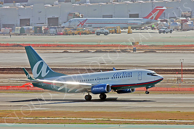 B737 00013 Boeing 737 AirTran Airline N295AT by Peter J Mancus
