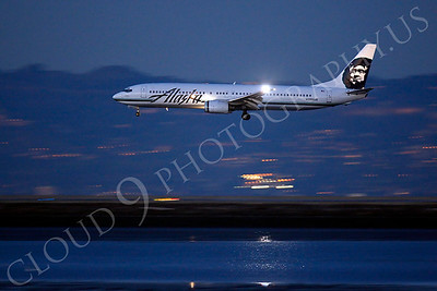 B737 00410 Boeing 737 Alaska N303AS by Peter J Mancus