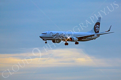 B737 00134 Boeing 737 Alaska by Peter J Mancus