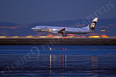 B737 00512 Boeing 737 Alaska N303AS by Peter J Mancus