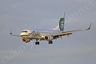 B737 00124 Boeing 737-800 Alaska Airline by Peter J Mancus