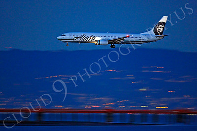 B737 00202 Boeing 737 Alaska N303AS by Peter J Mancus