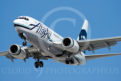 B737 00194 Boeing 737 Alaska Airline by Dave Budd