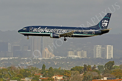 B737 00014 Boeing 737 Alaska Airline N774AS by Peter J Mancus