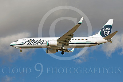 B737 00152 Boeing 737 Alaska N566AS by Dave Budd