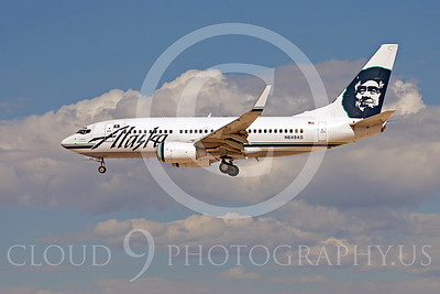 B737 00376 Boeing 737 Alaska N649AS by Dave Budd
