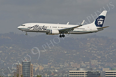 B737 00220 Boeing 737 Alaska Airline N565AS by Peter J Mancus